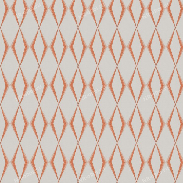 Ткань Fabricut Chromatics Vol. 25 Coral, Dada Diamond/Tangerine