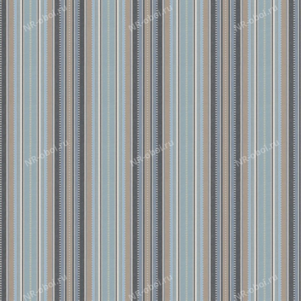 Ткань Fabricut Chromatics Vol. 24 Navy, Deck stripe/Seaside